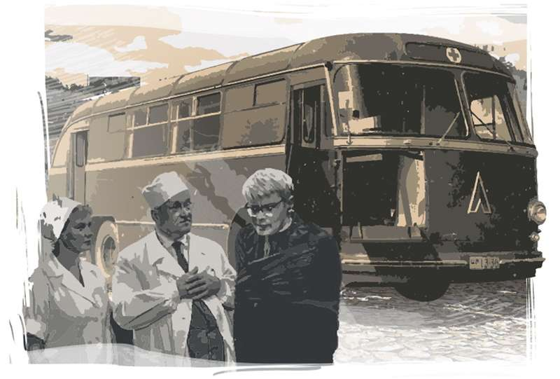 Забытые проекты СССР: санитарный автобус