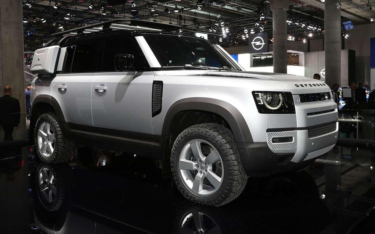 Новый Land Rover Defender иего 170 аксессуаров— фото 995354