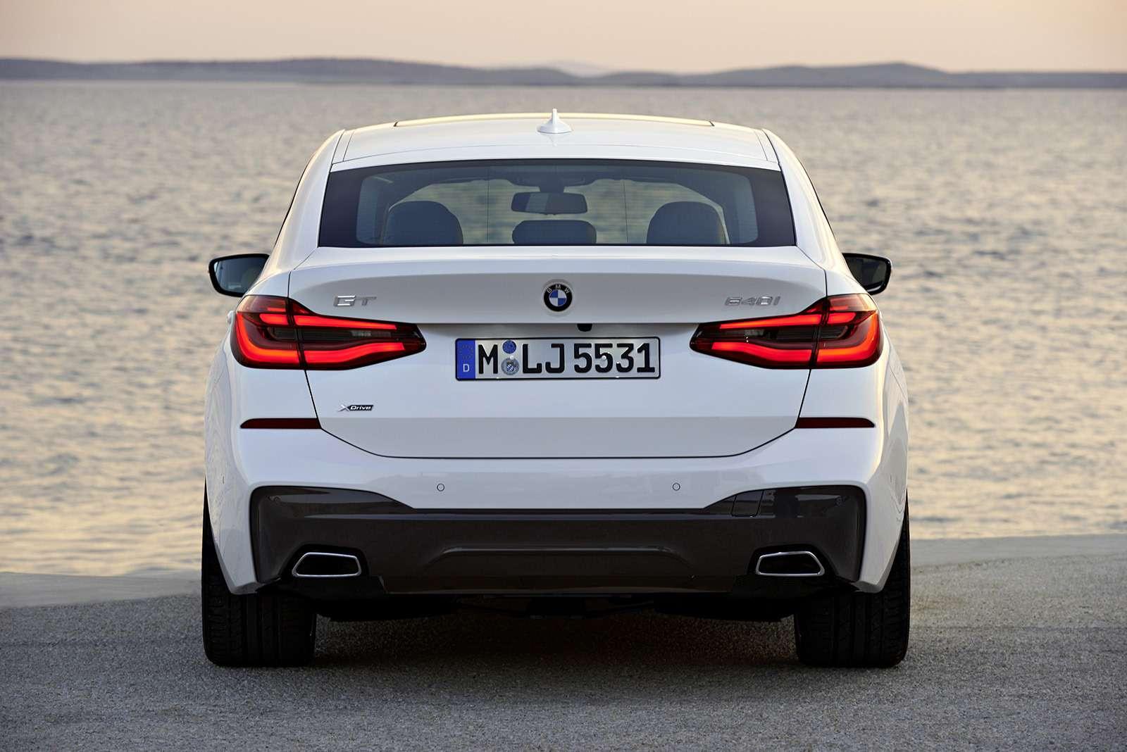 BMW6-й серии GTдляРоссии— комплектации ицены— фото 776378
