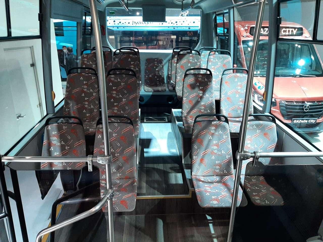 КакГАЗель, нобольше! ГАЗ показал автобус Валдай City— фото 1276214