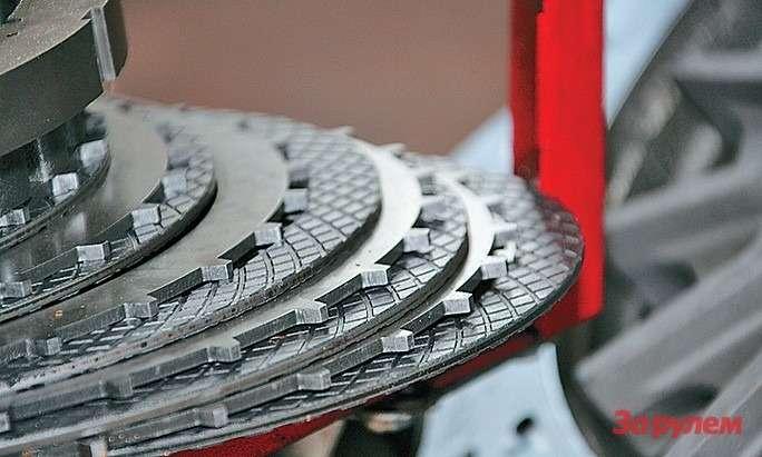 Ходимость фрикционных колец