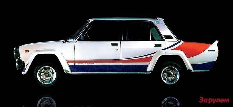 «Лада-ВФТС» - спортивный автомобиль, созданный в Вильнюсе под руководством Статиса Брундзы.