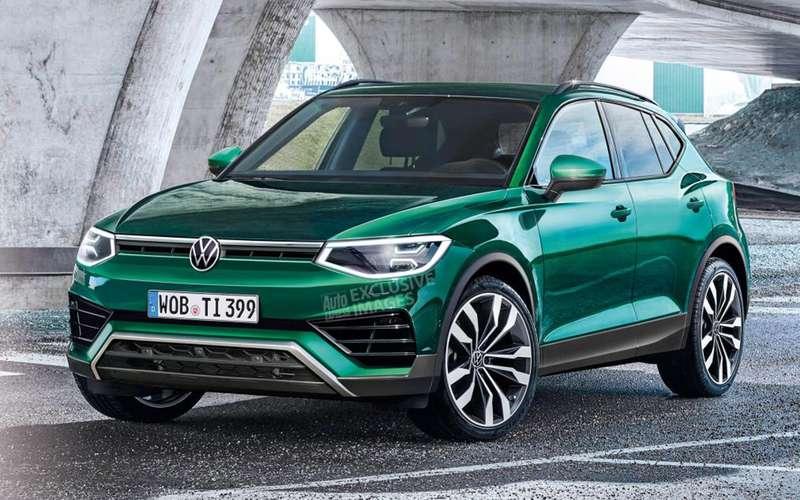Новый VW Tiguan будет радикально отличаться отсуществующего