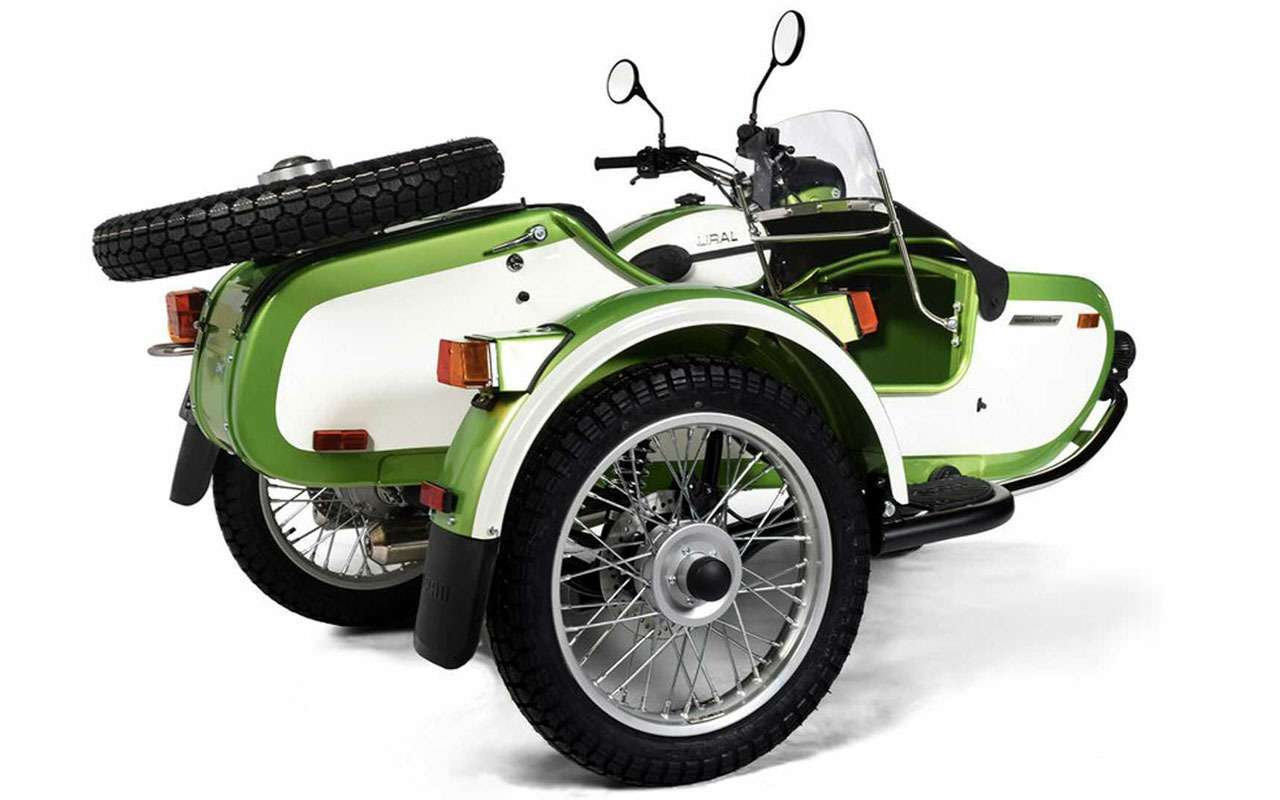 Новый мотоцикл Урал— специально длявыходных— фото 1168214