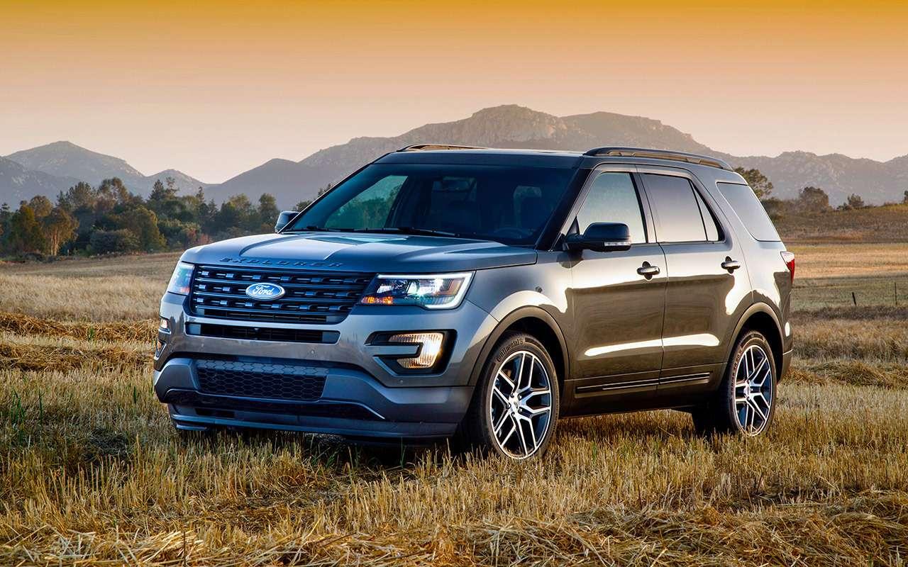 Ford Explorer (2011-2019): нашли 3преимущества и4проблемы— фото 1269601