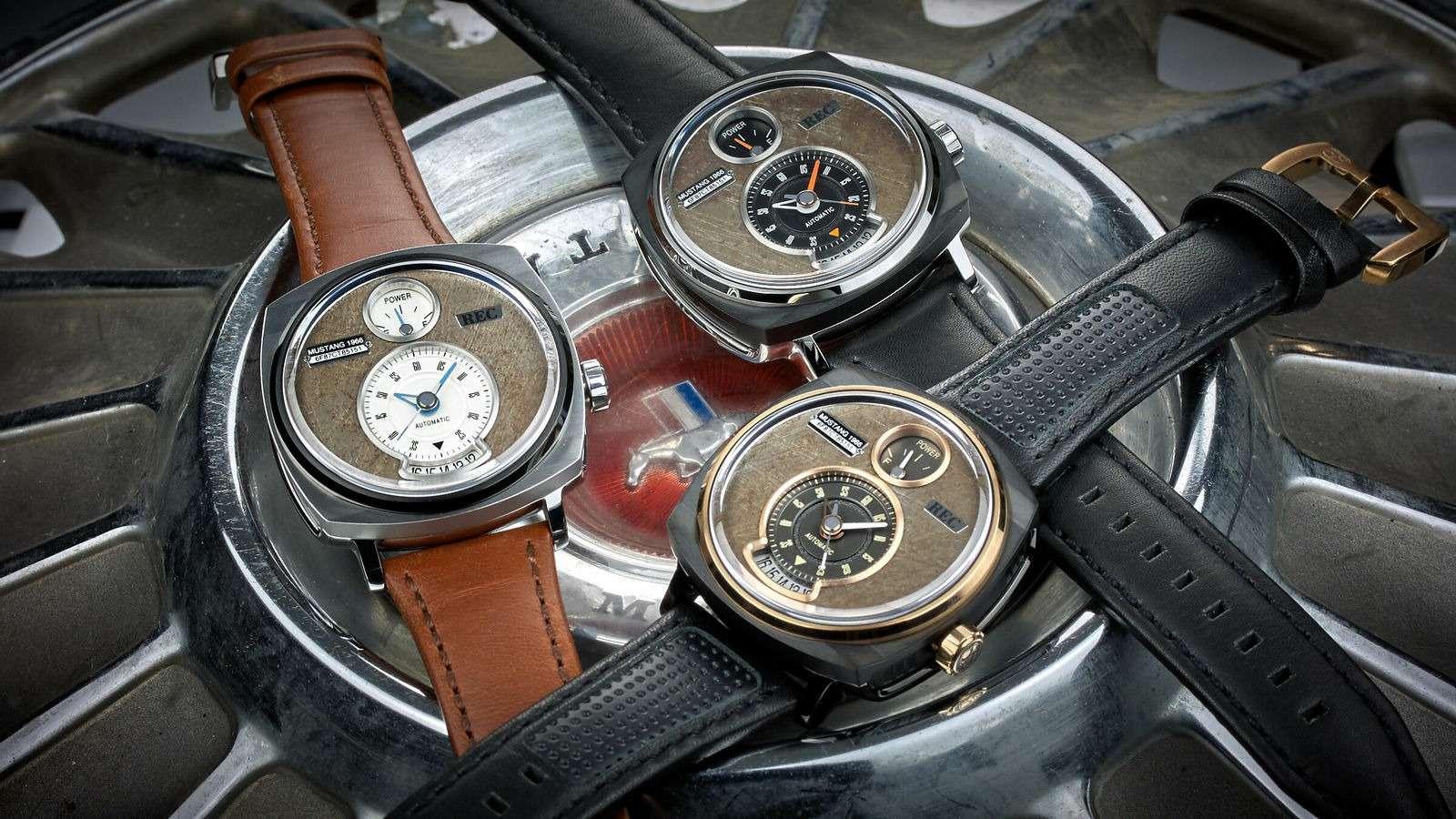 Всевдело: крутые часы изутилизированных Мустангов— фото 825278