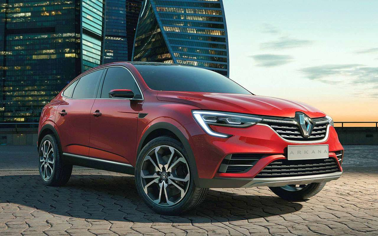 Renault Arkana: полные характеристики ився линейка двигателей— фото 967721