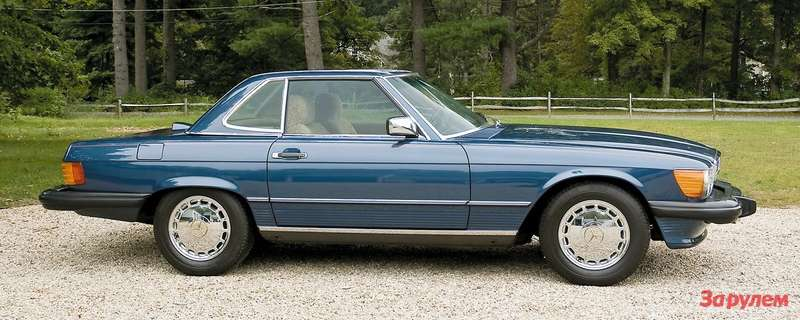 1986 Mercedes-Benz 560SL Roadster