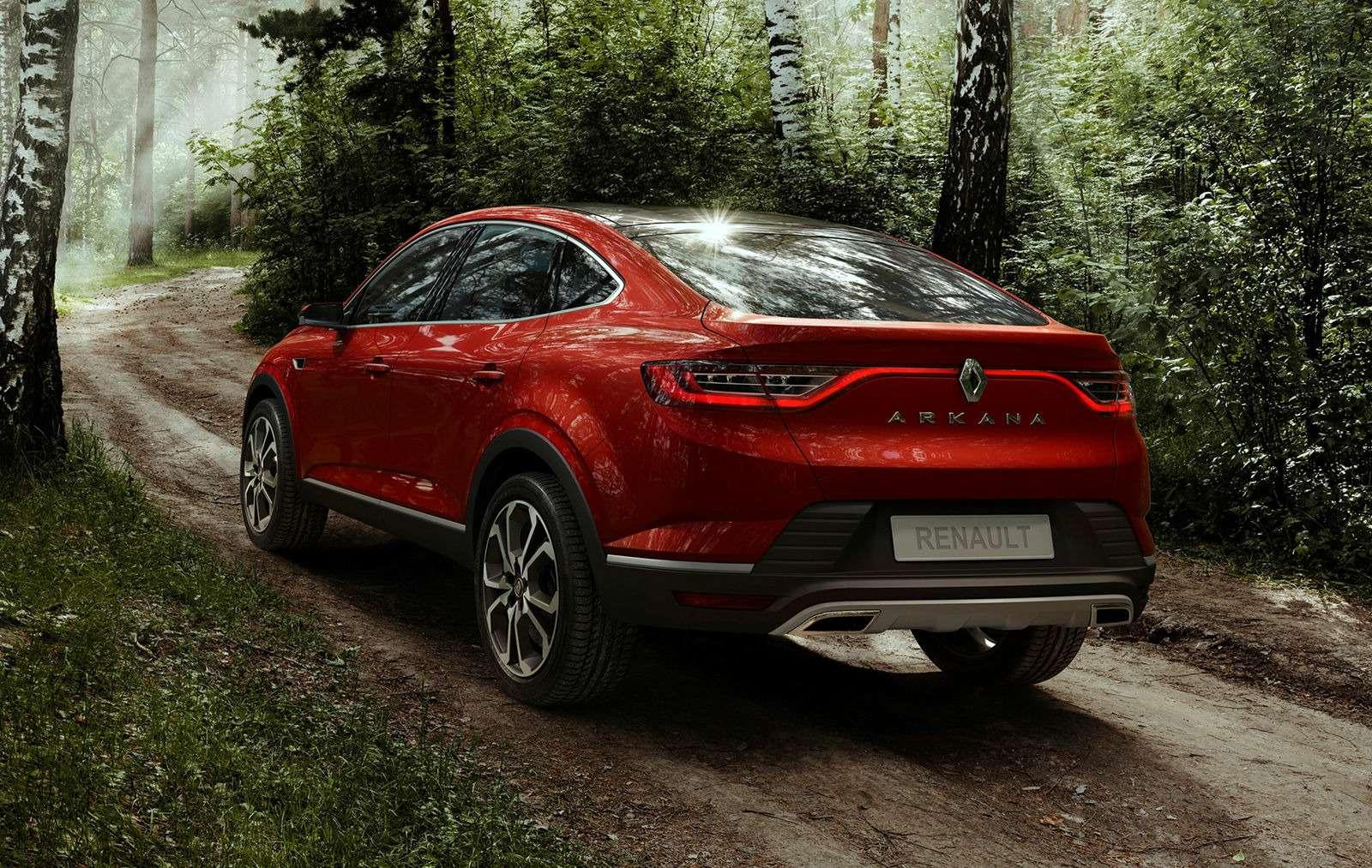 Renault Arkana: рассматриваем новый кроссовер совсех сторон— фото 905673