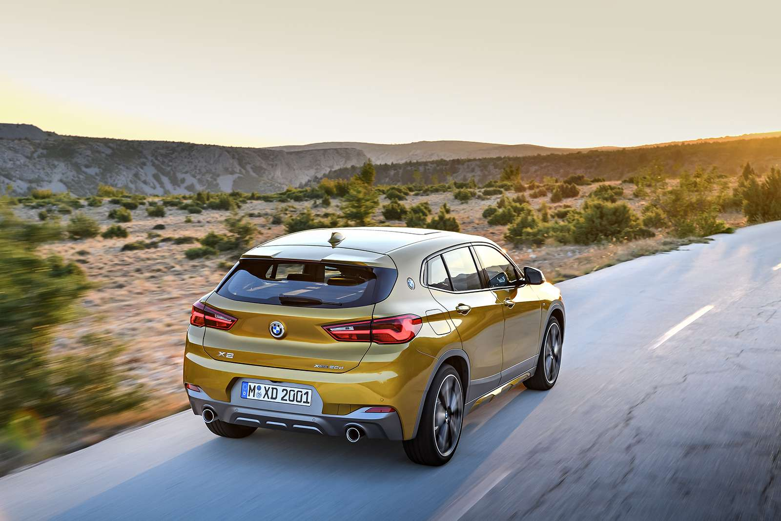 BMWрассекретила российские цены накроссовер X2— фото 809838