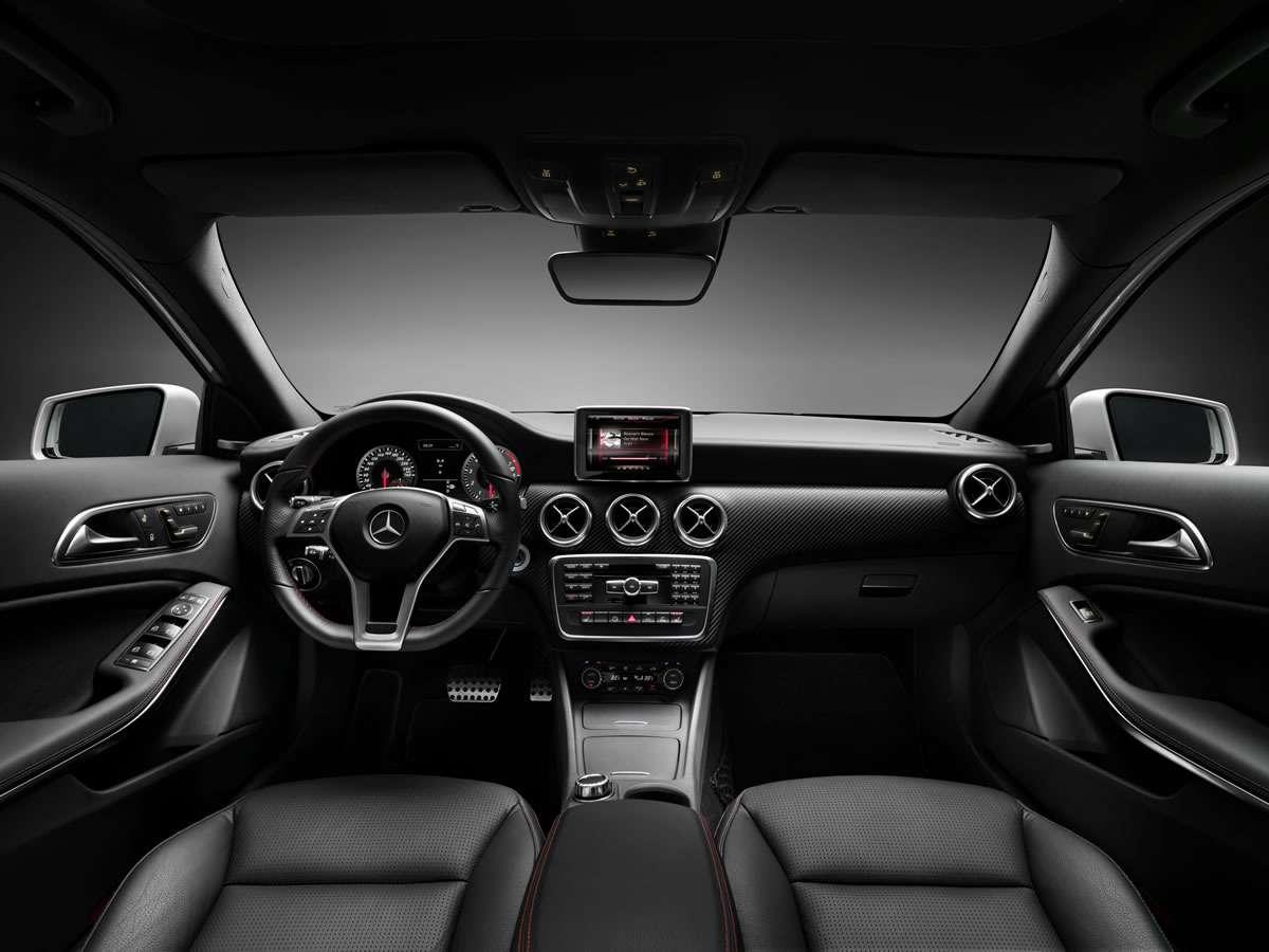 Интерьер 2013 Mercedes-Benz A-класса
