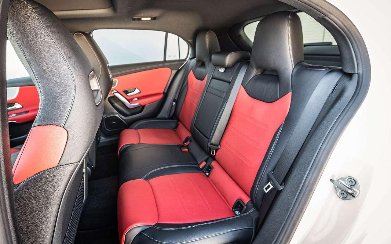 Mercedes-Benz А-класса: как большой— фото 876122