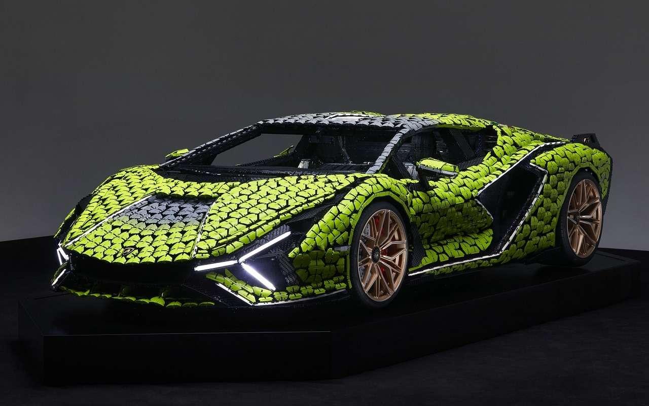 В Lamborghini построили гиперкар изконструктора Lego— фото 1252611