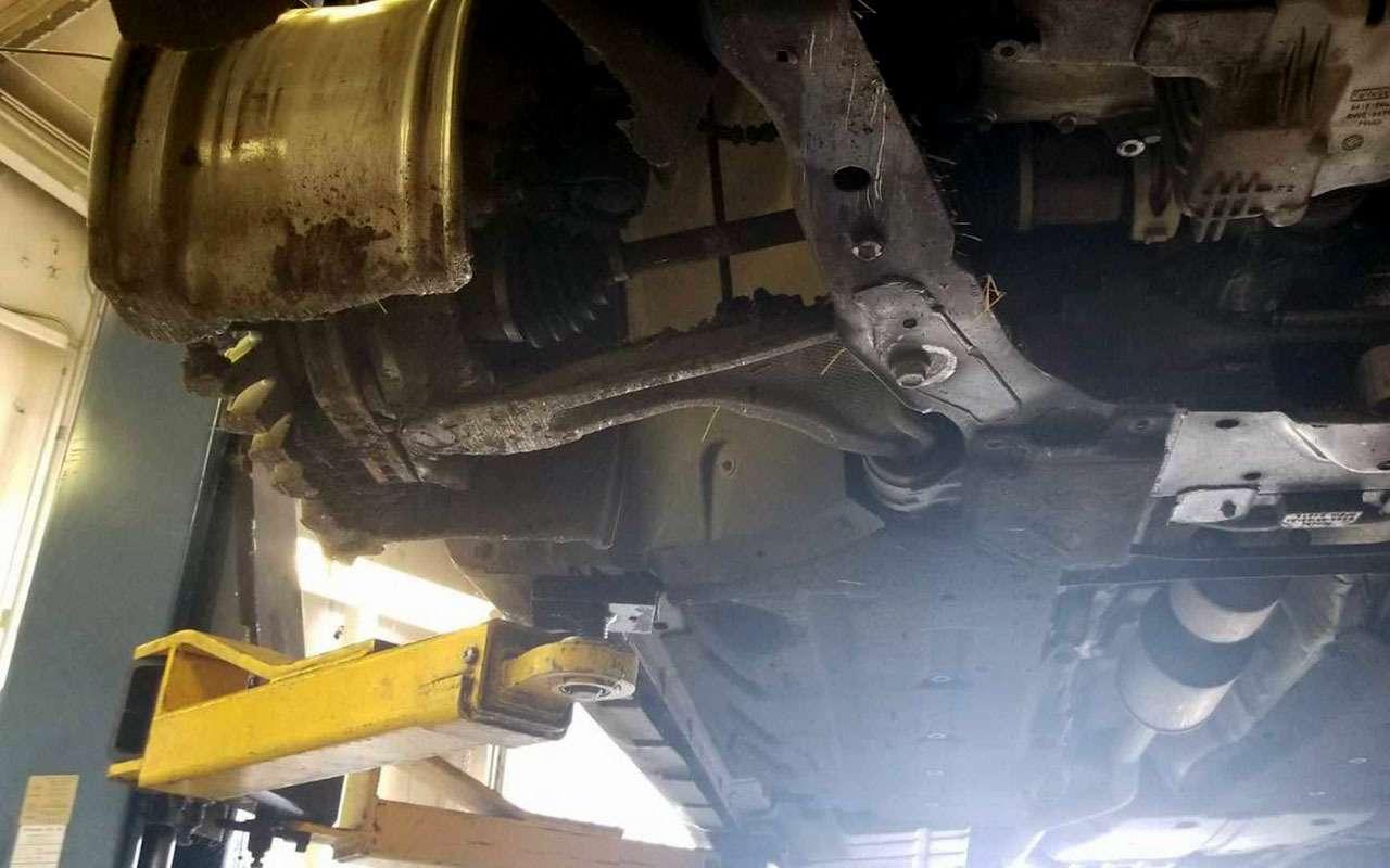 Загадка: как можно было ТАК сточить ведущие колеса (идиски)?— фото 1196061