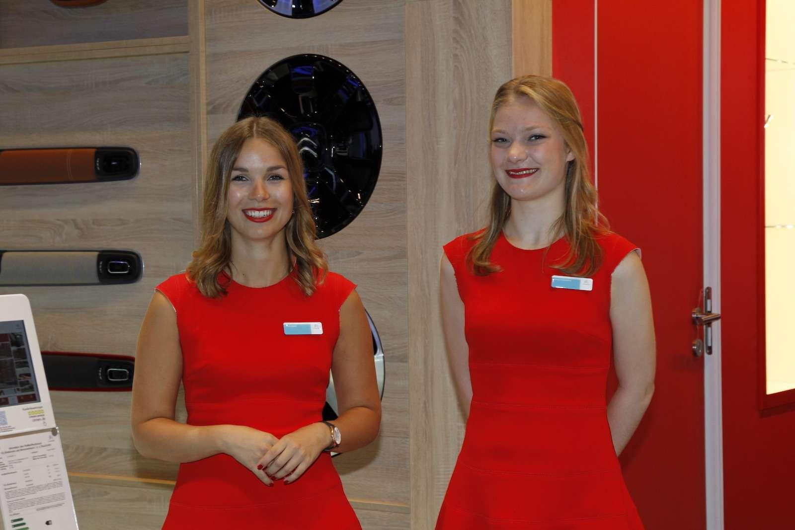 Лучшие девушки Франкфуртского автосалона!— фото 793924