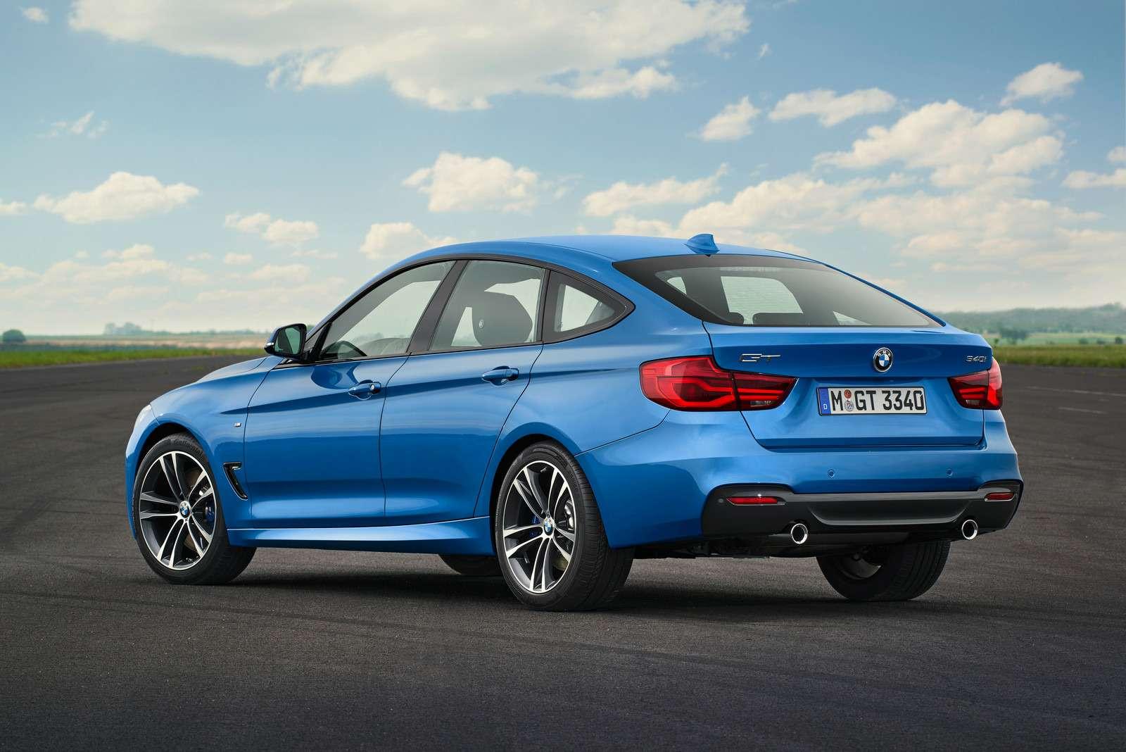 Обновленный BMW 3-й серии GT: урок эффективного менеджмента— фото 593870