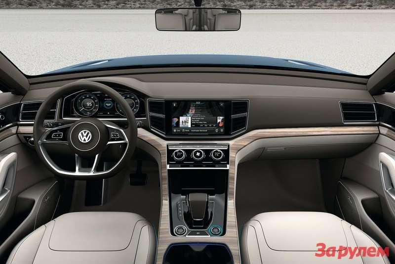 Volkswagen CrossBlue Concept inside