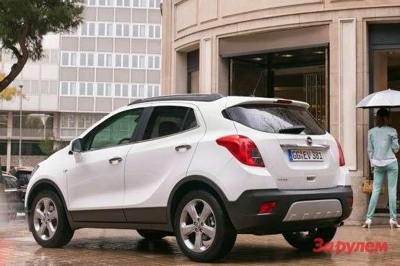 Opel Mokka side-rear view
