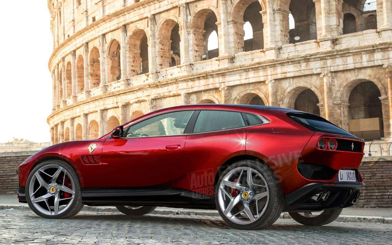 Первый кроссовер Ferrari Purosangue: дизайн, цена ихарактеристики— фото 1118726