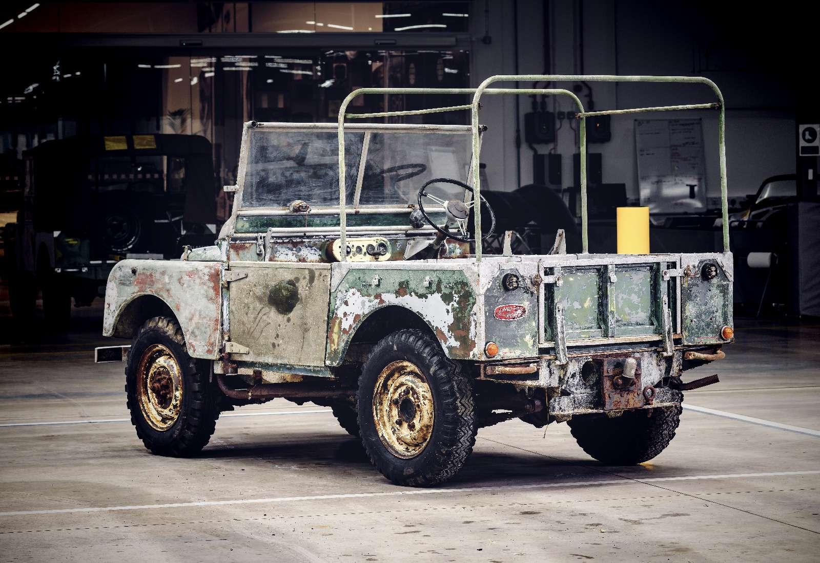 Land Rover нашел первый выпущенный компанией внедорожник— фото 834954