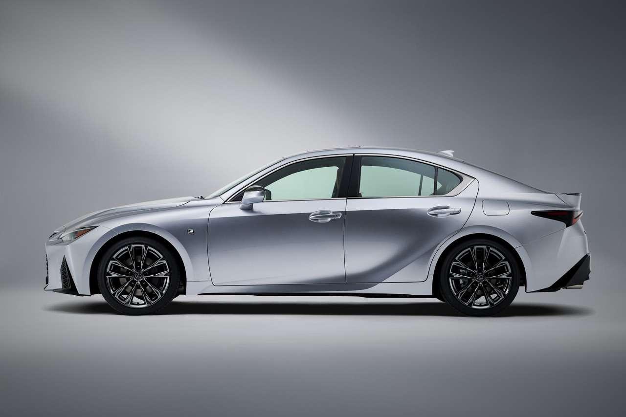 Представлен новый Lexus IS— фото 1140414