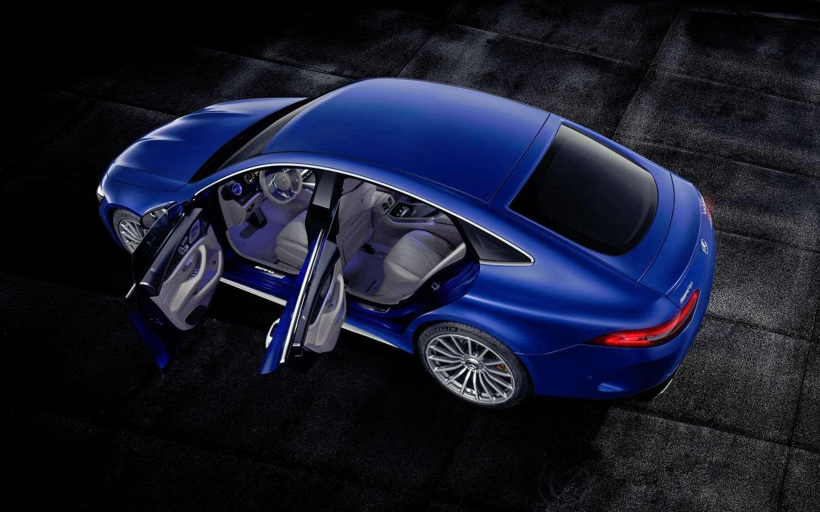 Подмена! Пятидверный Mercedes-AMG GTполучил «тележку» Е-класса— фото 851518