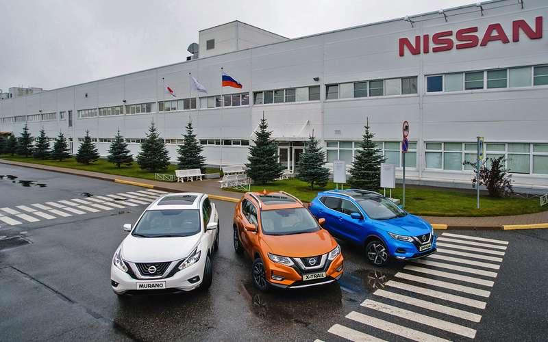 Первый обновленный Qashqai сошел сконвейера российского завода Nissan