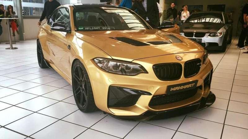 Громкий ужас: экстремальный BMW M2выходит натропу войны