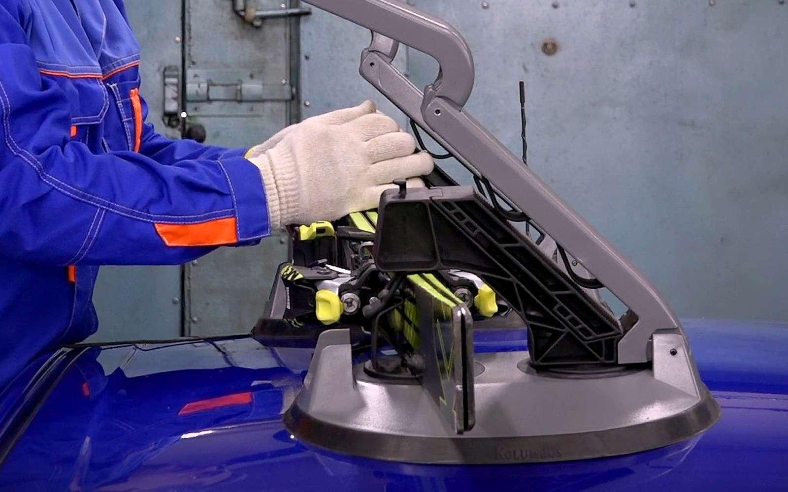 Магнитные багажники накрышу— тест двух конструкций— фото 944360