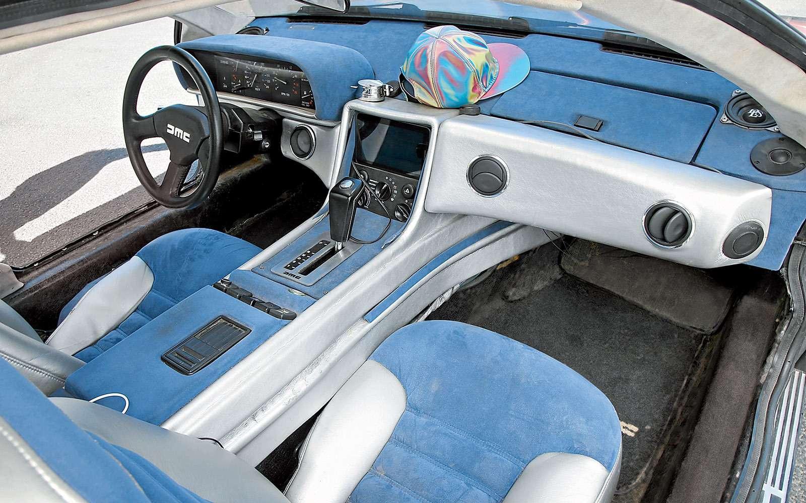 BMWi8и DeLorean DMC-12— вперед вбудущее— фото 637018