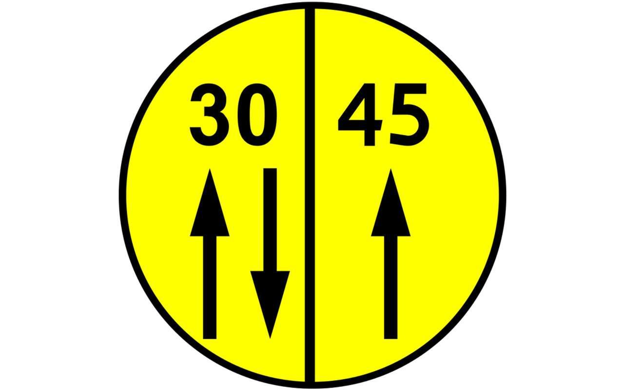 В Европе появились новые дорожные знаки. Что они означают?— фото 871290