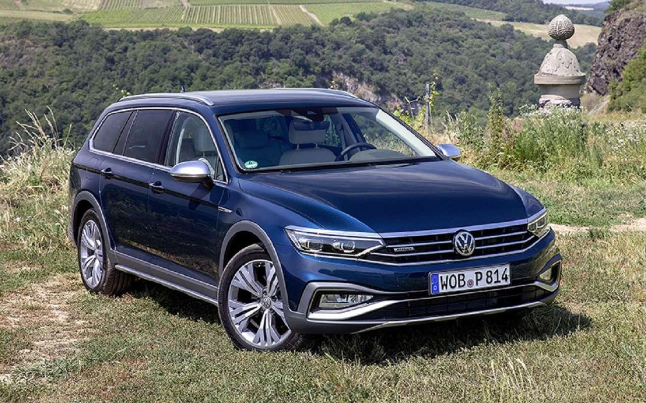 Volkswagen Passat получил новую версию для России