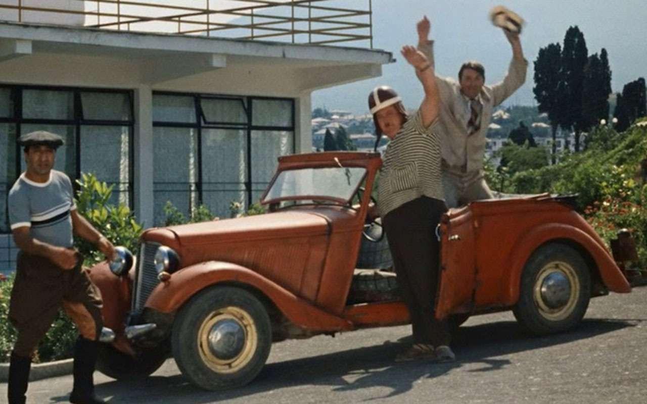 Самые необычные автомобили советских фильмов: хоть один узнаете?— фото 1115823