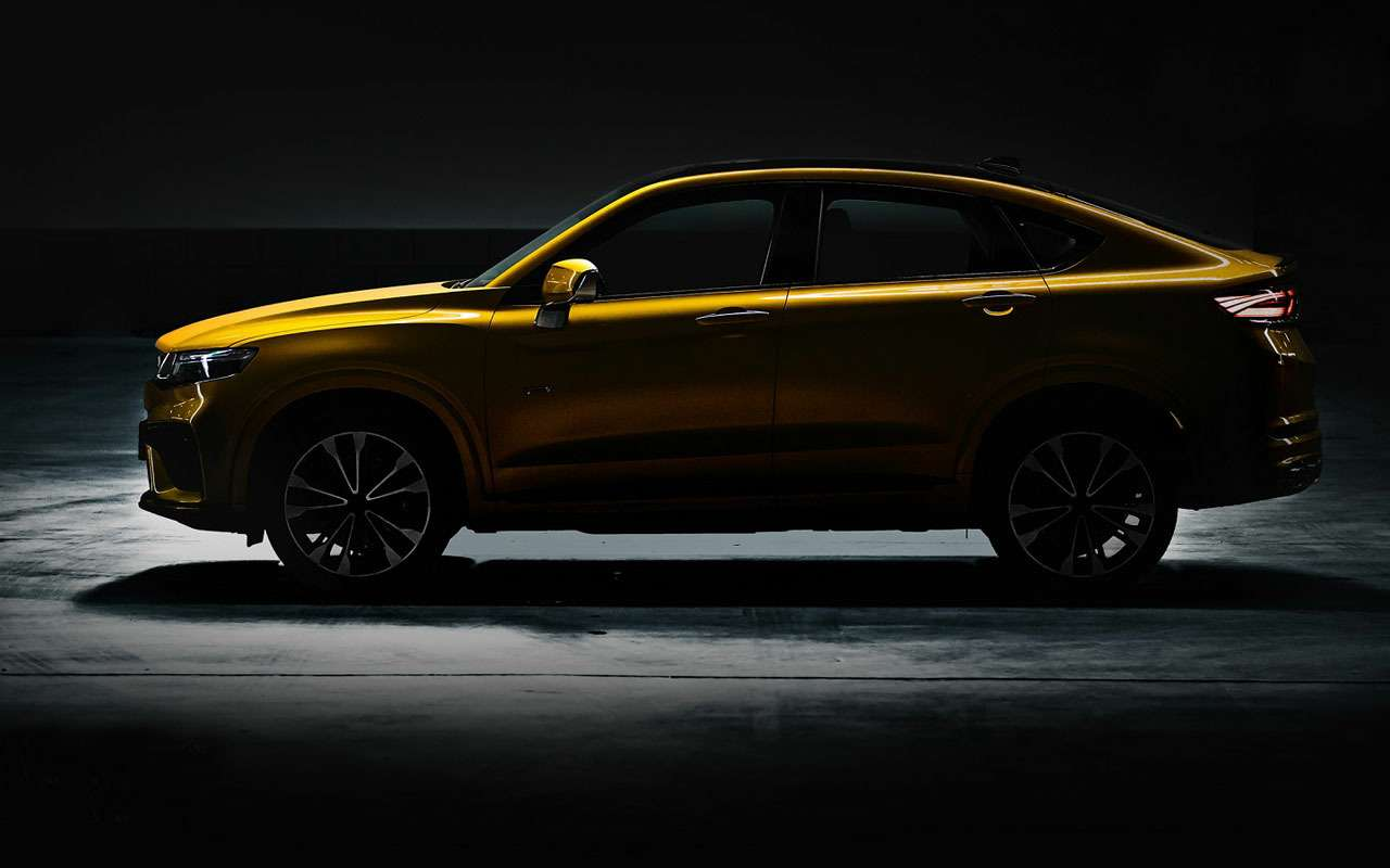 Китайское кросс-купе сдвигателем Volvo: скоро унас впродаже— фото 973923