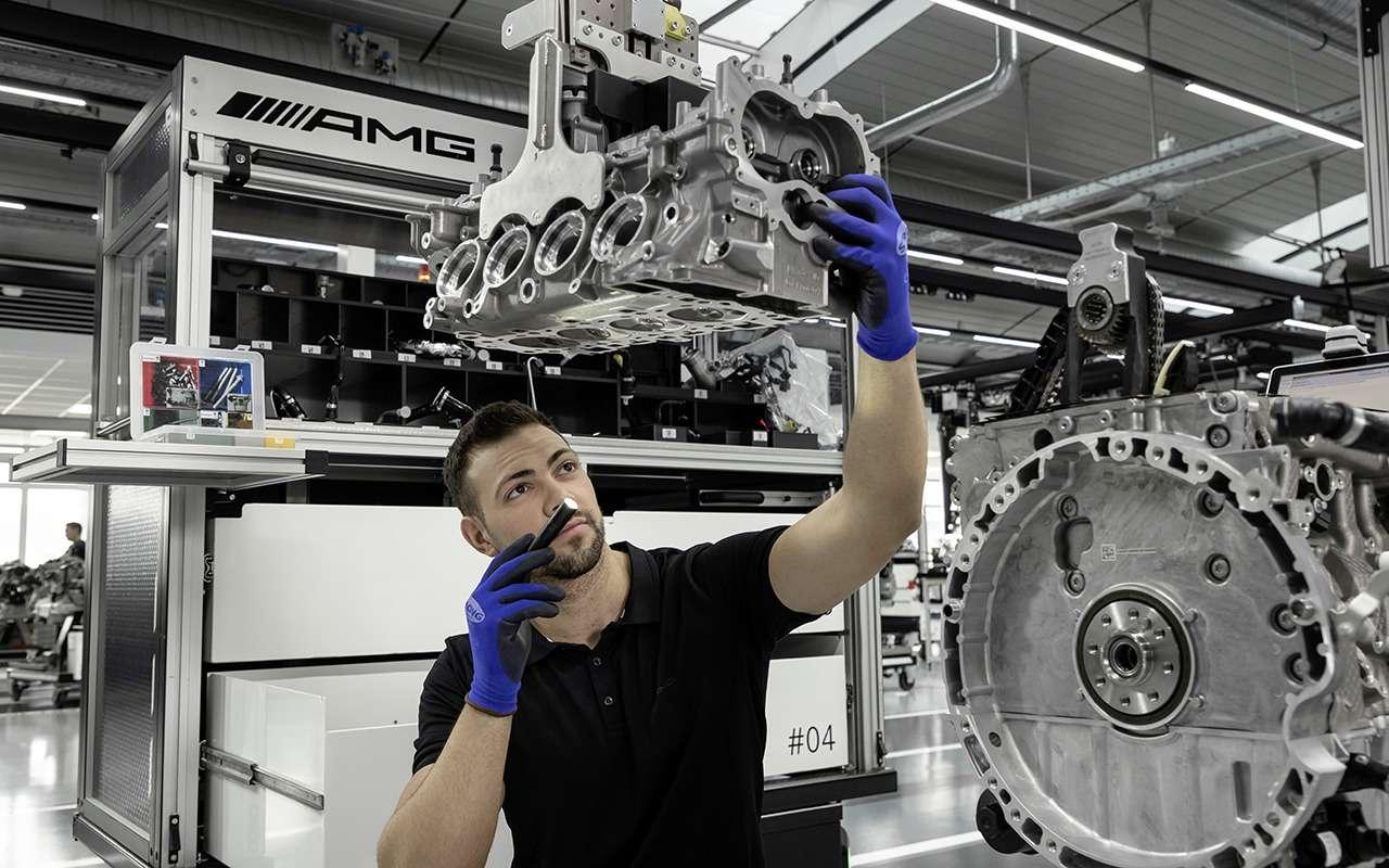 Турбированный двигатель Mercedes-AMG— новые подробности— фото 982770