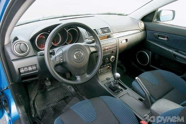 ТЕСТ: Mazda 3и Mitsubishi Lancer. Два литра сверхом— фото 63615