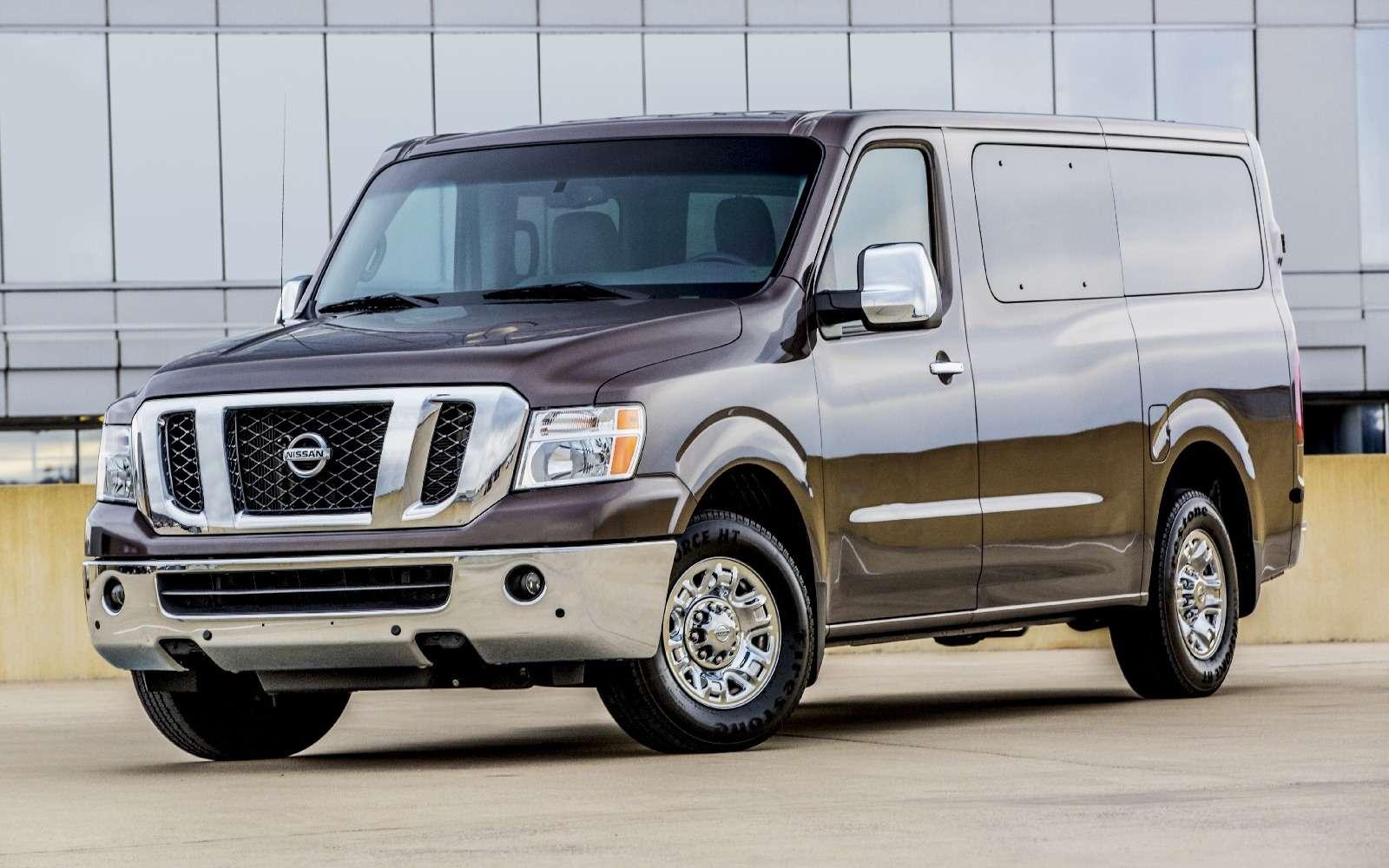 К черту даунсайзинг: исполина Nissan NVснабдят новым атмосферным V8— фото 674451