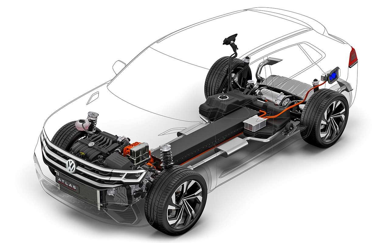 VWTeramont размножается: тест-драйв купе-кроссовера ипикапа— фото 921304