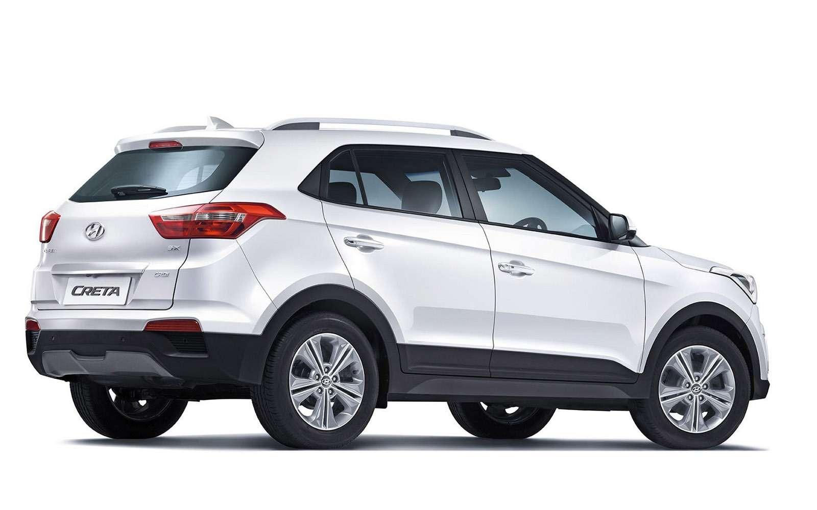 Hyundai Creta или Renault Kaptur: какой кроссовер выбрать? — фото 611171