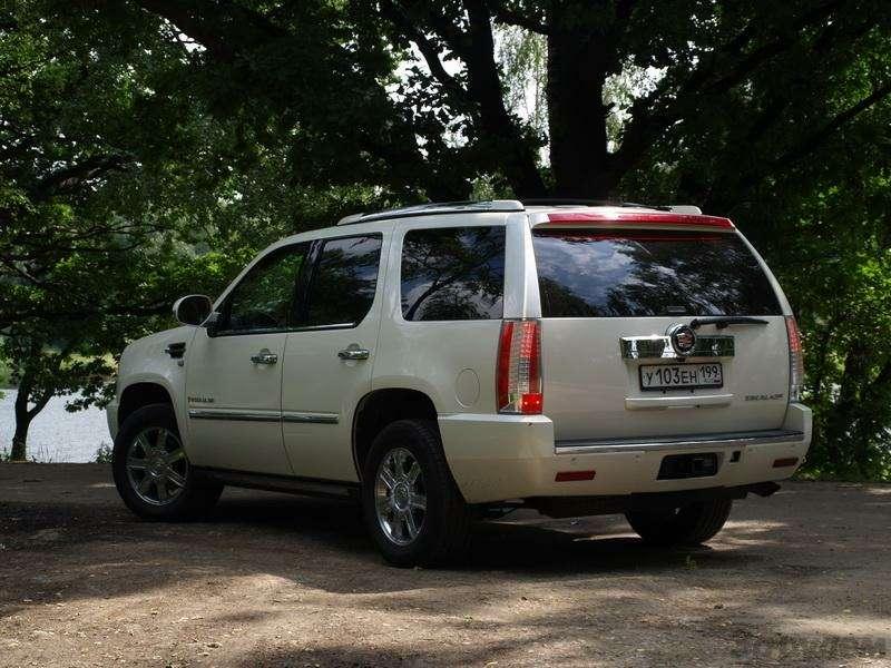 Cadillac Escalade: Риторический вопрос (ВИДЕО)— фото 344605