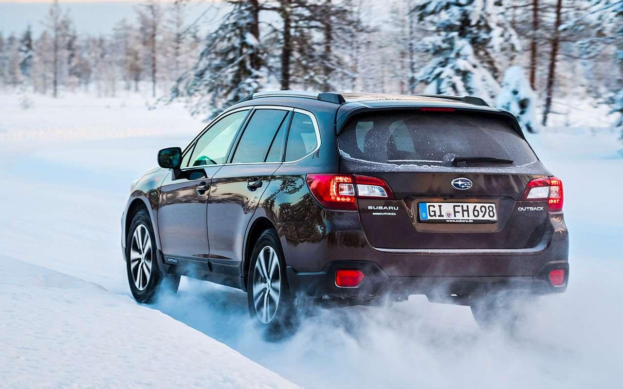 Обновленный Subaru Outback— тест-драйв— фото 859144