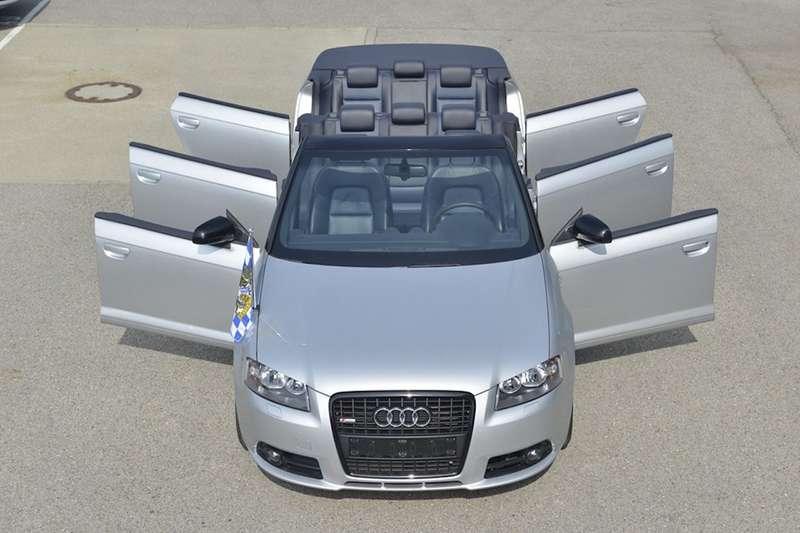 Шестидверный кабриолет Audi A3
