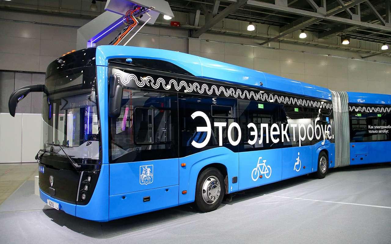 КАМАЗ-6292— лучший большой автобус 2021— фото 1276505