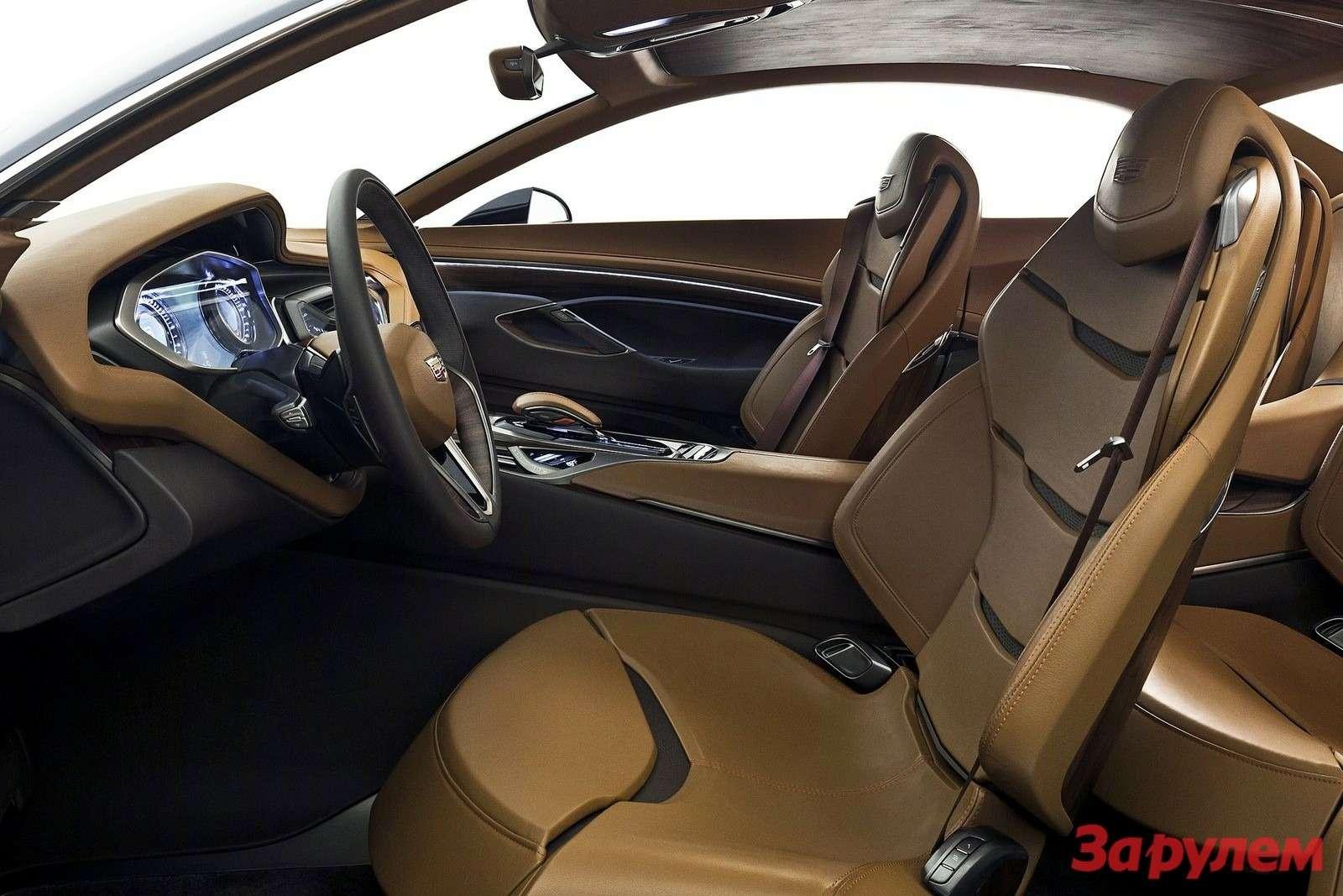 Концептуальное купе Cadillac Elmiraj Concept