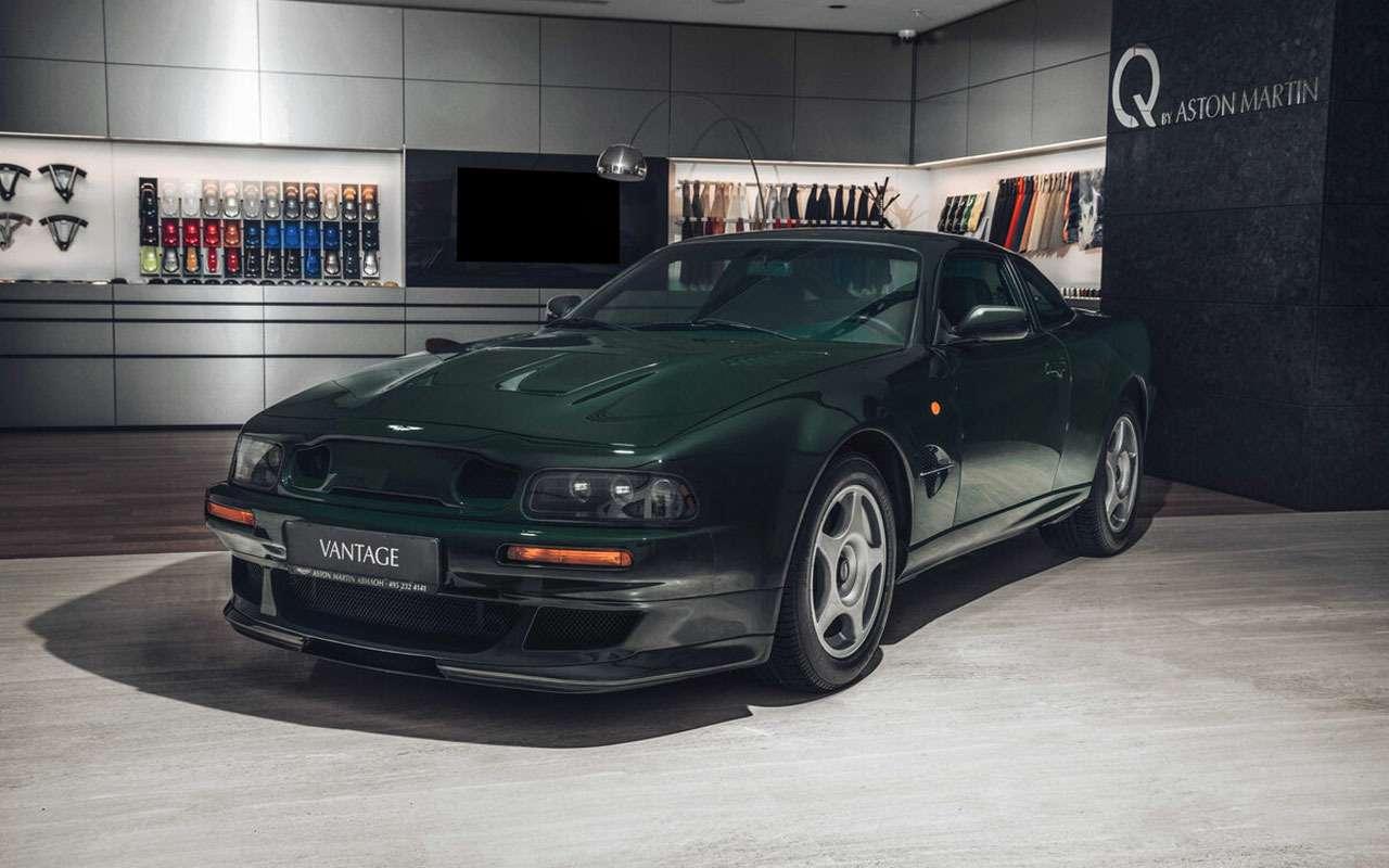 Продается редкий Aston Martin. Всего 56млн руб.— фото 1158630