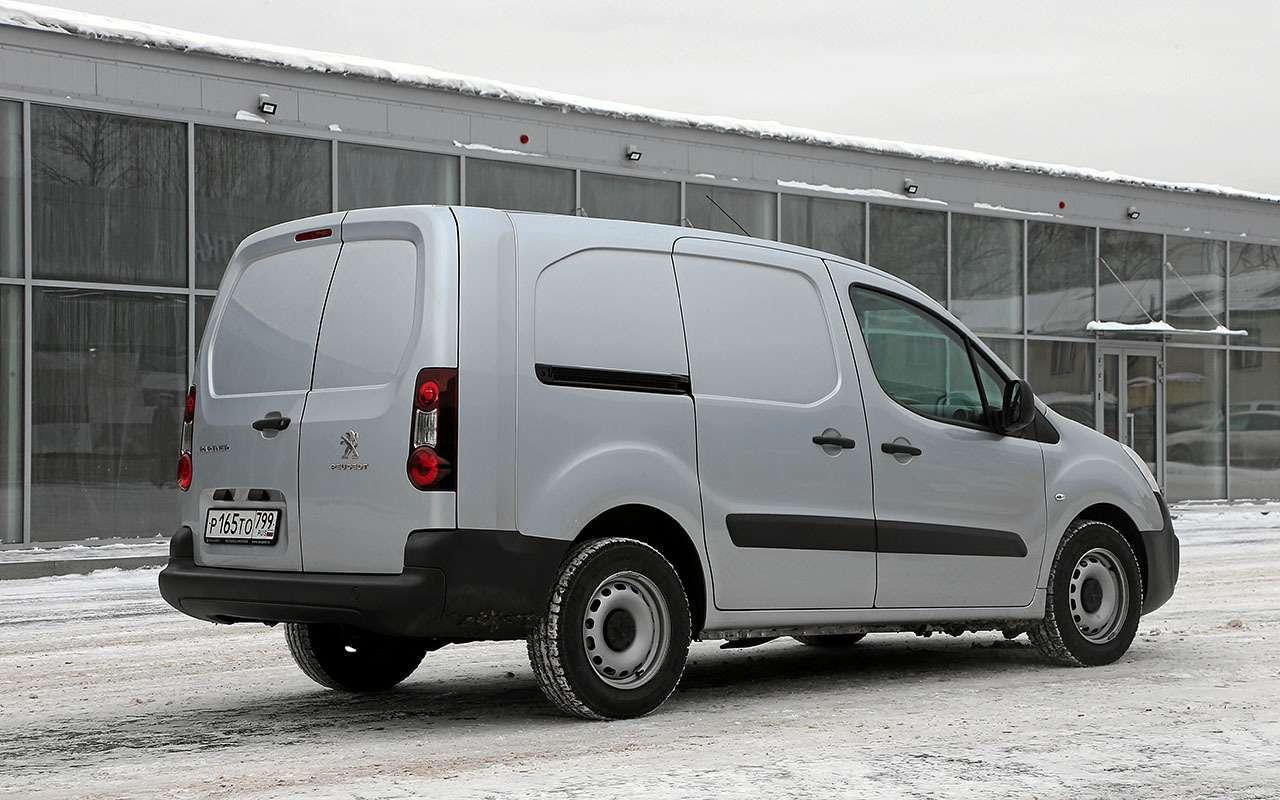 Peugeot Partner российской сборки: 5плюсов и2минуса— фото 1224221