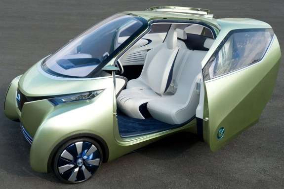 Nissan Pivo 3Concept side-front view