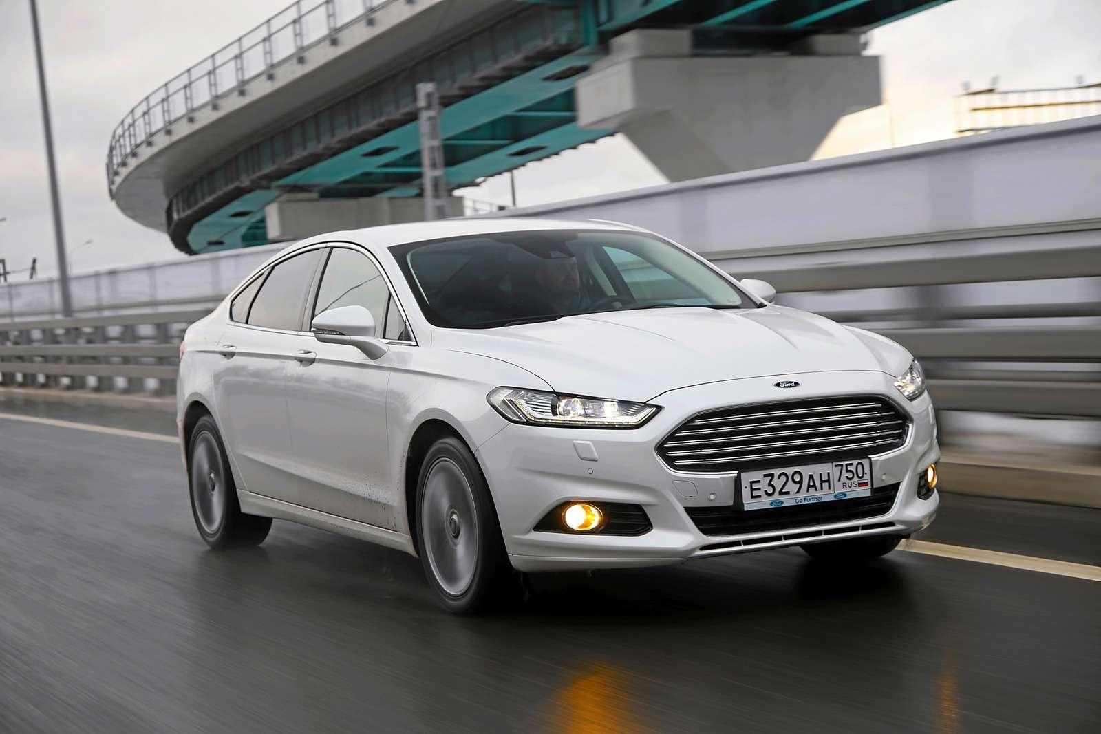 Тест Ford Mondeo ссамым мощным мотором: кому «все включено»?— фото 571857