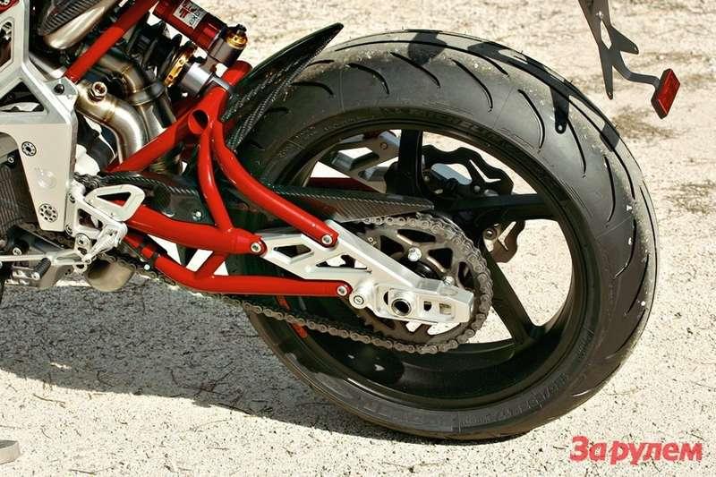 Задний маятник мотоцикла своими руками 4
