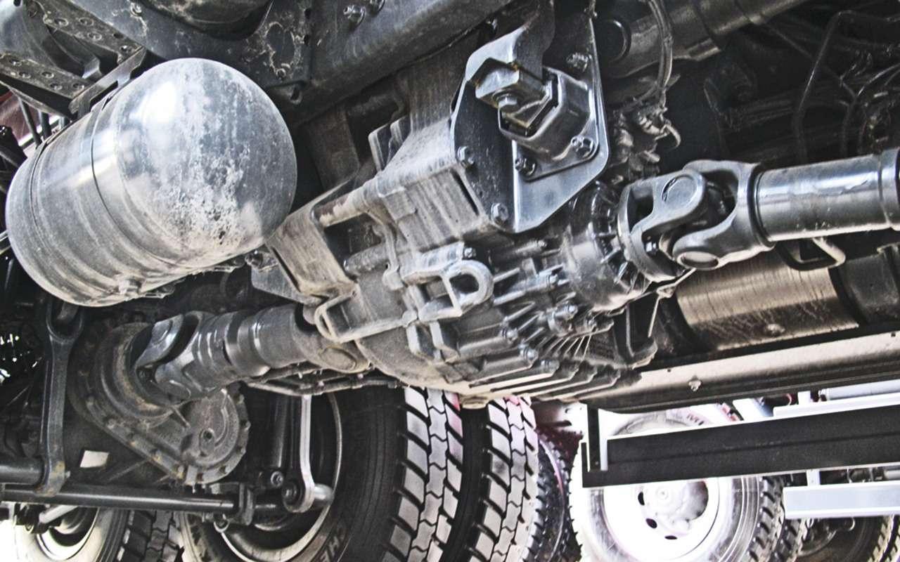 Mercedes Arocs российской сборки— детальный обзор— фото 1279141